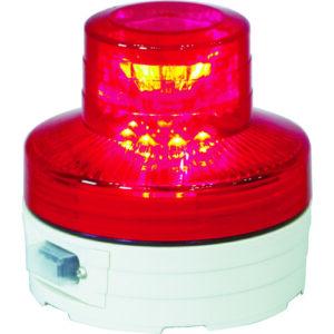 日動 電池式LED回転灯 ニコUFO 常時点灯 赤 NU-AR e-kikuchi.com